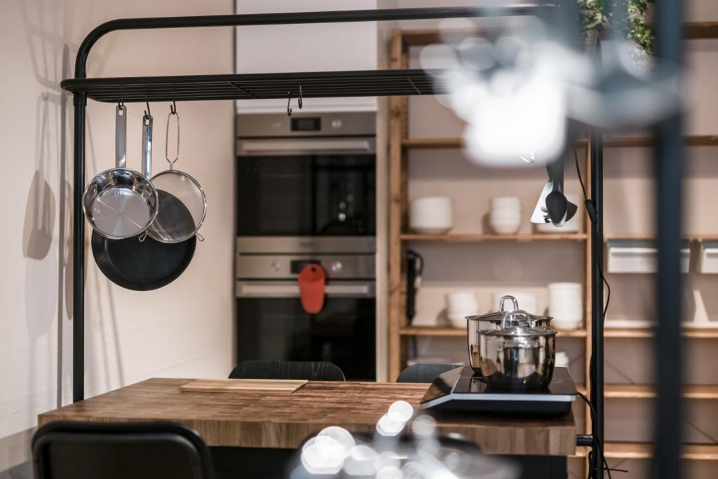 wnętrze szkoły kulinarnej