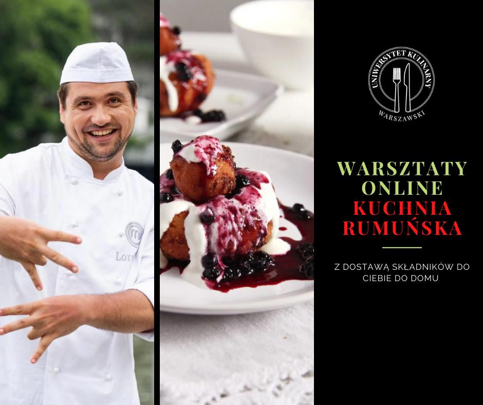 Warsztat online: Kuchnia rumuńska z Lorkiem 15.03.2021, godz: 19:00